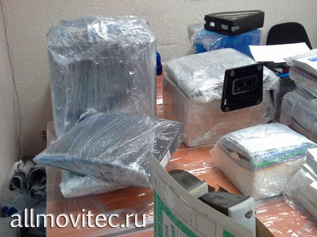 Упаковка вещей перед переездом офиса