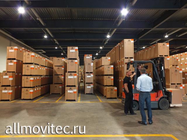 Подготовка к переезду склада